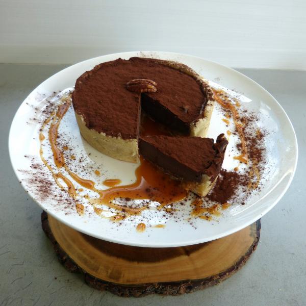 Tarte-chocolat-caramel